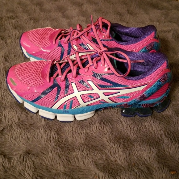 Asics Gel 1140V B251Q Womens Volleyball Shoes Size 9.5 Pink